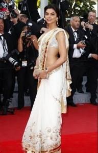 Deepika Padukone banarasi saree