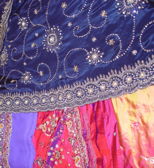 Embroidered shawls, hand embroidered shawl, elegant embroidered