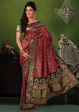 Banarasi Sari wedding trousseau