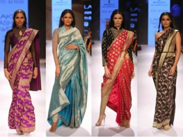 Banarasi sari colour combinations