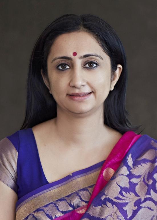 Manish Girotra - CEO Moelis & Company in Banarasi Sari